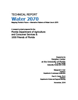 Water 2070 Technical Report